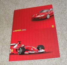 BROCHURE Ferrari 2002 - 360 MODENA 360 SPIDER 360 CHALLENGE 575 MARANELLO 456 GT