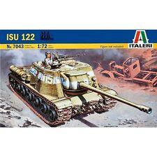 Italeri 7043 Soviet ISU122 1/72 plastic scale Russian Tank model kit