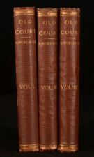 1867 3vol Old Court A Novel William Harrison Ainsworth First Edition