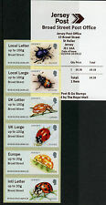 Jersey 2016 estampillada sin montar o nunca montada escarabajos Ladybirds Post & Go amplia Str. 6v Coll JE02 Boje 16 sellos