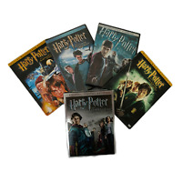 Harry Potter: Lot of 5 Discs (DVD) LIKE NEW