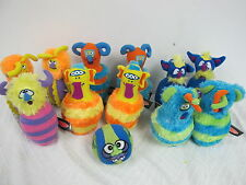 MONSTER BOWLING PLUSH TOYS MELISSA & DOUG WITH EXTRA 'S