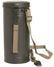 Wehrmacht Luftwaffe Heer Gasmaskenbüchse Gasmaskendose Maskenbehälter M38