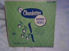 1952 THE CHORDETTES Harmony Encores,columbia,10 in.dorothy schwartz,janet ertel