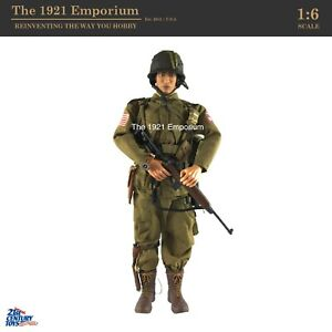 1:6 21st Century Toys Ultimate Soldier WWII US Army 82nd Airborne Paratrooper