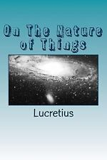 On the Nature of Things by Lucretius (2015, Paperback)