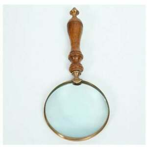 Nautical Handheld Magnifying Glass- Large Magnifier