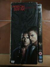 PRISON BREAK: THE COMPLETE SERIES - SEASONS 1, 2, 3, 4 + 5 DVD BOX SET (26 DISCS