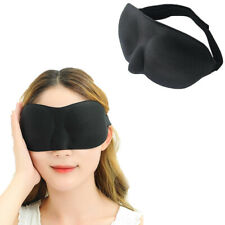 1Pcs High Quality 3D Sleep Mask Sleeping Eye Mask Travel Eyepatch for unisex