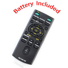New Replaced RM-ANU192 Remote for Sony Sound Bar SS-WCT60 HT-CT60 sub RM-ANU191
