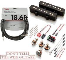 EMG JVX Set Black Retro Jazz Bass J Pickup Set Alnico V (FENDER 18FT) BOX DAMAGE