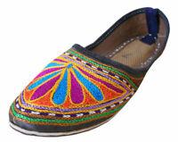 Women Shoes Indian Handmade MultiColor Ballerinas Mojaries UK 3.5 EU 36