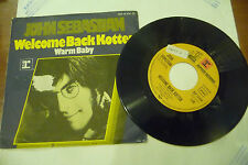 "JOHN SEBASTIAN""WELCOME BACK KOTTER-disco 45 giri REPRISE Ger 1976"""