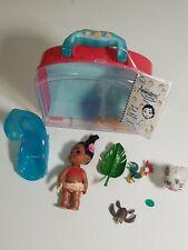 "RARE Disney Parks Animators Collection Moana Mini Doll Play Set 5"""