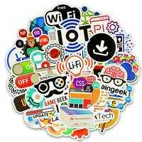 50x Internet Programming Programmer Stickers Language Funny Laptop Pad Phone