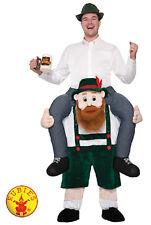 St Patrick Day Irish Piggy Back Beer Buddy Funny Adults Costume