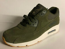 Nike Air Max 90 ultra 2.0 LTR Leather 924447-301 Olive Canvas