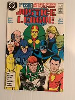 JUSTICE LEAGUE AMERICA # 1 (DC 1987)  1st MAXWELL LORD NM+ 9.6