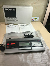 SONY RM-E100V VIDEO EDITING CONTROLLER