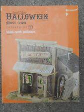 Dept 56 Halloween Village Blood Creek Jailhouse Nib