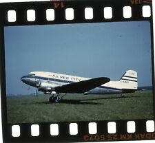 More details for original 35mm unmounted slide g-amwv c-47b skytrain silver city airways s407