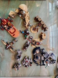 Lego Star Wars lot Complete with all accessories and instructions