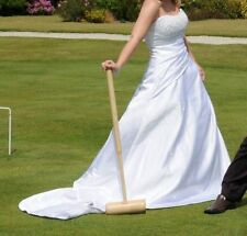 Satin Petite Strapless Wedding Dresses
