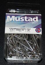 MUSTAD  HOOKS SIZE 6//0 #MB019 LOT OF 50