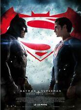 Affiche 120x160cm BATMAN V SUPERMAN L'aube… 2016 Ben Affleck, Henry Cavill NEUVE