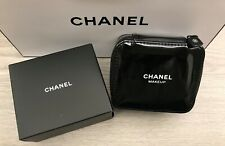 CHANEL Beauty Black Makeup Lipstick CASE with Mirror