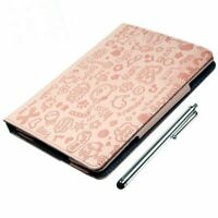 PU Leather iPad Mini Case Magnetic Padded Cover with Stand Free Stylus Pen