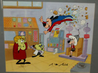 Underdog- No Need To Fear- Original Animation Cel Signed by Peter Piech