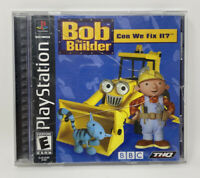 Bob The Builder: Can We Fix it?  (Sony PlayStation, 2001) Complete Tested PS1