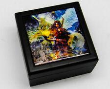 """Enchanted Princess"" Art Tile Jewelry/Keepsake/Spirit Guides Box Steve Roberts"