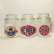 Harry Potter Inspired Glass Fillable Gift Jars With Honeydukes Stickers 3.5""