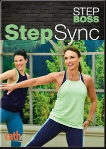 CATHE FRIEDRICH STEP BOSS SERIES STEP SYNC DVD WORKOUT EXERCISE NEW SEALED