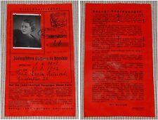 Jahreskarte Nr. 28 Zoologischer Garten in Breslau 1941 / Zoo Tiergarten Wroclaw