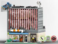 Modular Eisdiele 'Iceberg' - PDF Bauanleitung - kompatibel mit LEGO Steine