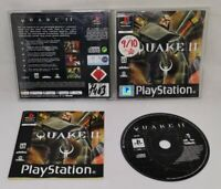 Quake 2 II PlayStation PS1 Black Label UK PAL Game With Manual + Insert