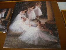 "SPRINGBOK 500 piece puzzle, ""Ballerinas"", complete as shown"