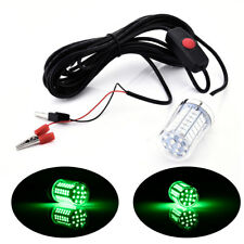 12V 15W Underwater LED Fishing Lamp Night Boat Light Attracts Fish Shad Squid
