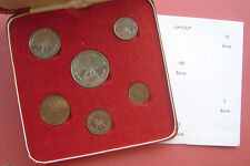 Muscat & Oman1970  2-100 Baisa 6 Coins Specimen Proof Like Set with Box and COA