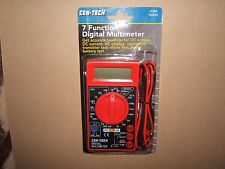 NEW CEN-TECH 7 FUNCTION DIGITAL MULTIMETER & BATTERY TESTER.69096 ,90899.