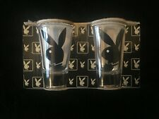 PLAYBOY 2001 SHOT GLASSES X 2 BRAND NEW IN PACK
