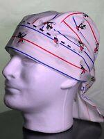 Details about  /Convertible Medical Surgical Scrub Nurse Hat Scrub Bandana  HandMade in USA