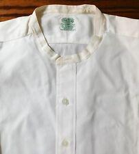 """Vintage Vantella tunic shirt Cotella UNUSED size 17"""" 1950s collarless UNUSED"""