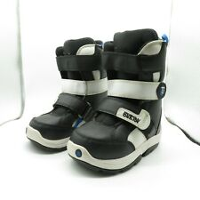 Burton Grom Snowboard Boots Us 12 C Eur 29 Easy Secure Shoes Booties Snow Youth
