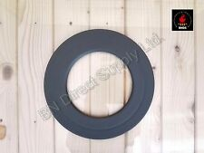 High Quality Collar Ring  for 150mm / 6 Inch pipes Rigid Black Mat DURATHERM