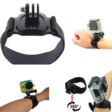 360° Rotation Wrist Hand Strap Band Holder Mount for GoPro Hero 1 2 3 3+ Top
