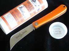 Great Eastern Farm&Field Hawkbill Knife (Harley Davidson Orange) Delrin. 2016